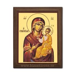 1829-106 Icoana fond auriu 15,5x19,5 - MD Odighitria