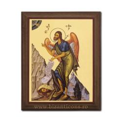 1829-121 Icoana fond auriu 15,5x19,5 - Sf Ioan Botezatorul
