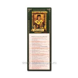 CALENDAR perete CLASIC 15,5x42 Sf. Nectarie CP15-114 200/set
