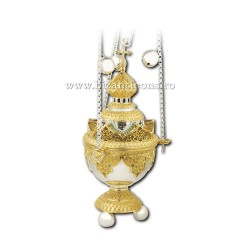 Cadelnita traforata - aurita si argintata AT 107-84