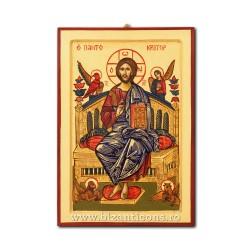 Icoana pictata 32x44 - Iisus pe Tron ICP34-103