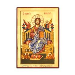 Icoana pictata 60x40 - Iisus pe Tron ICP64-103