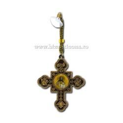 1-72 medalion cruce greaca cu auriu si ic mijloc 12/set