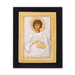 Icoana metal - Sfantul Mucenic Pantelimon 19x24 cm K104-023