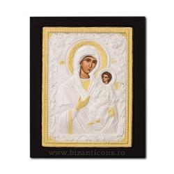 Icoana metal - Maica Domnului Odighitria - Indrumatoarea 19x24 cm K104-106
