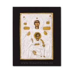 Icoana metal - Maica Domnului din Tsambika 19x24 cm K104-109