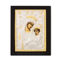 Icoana metal - Maica Domnului Imparateasa - Anagheni 19x24 cm K104-403