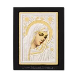 Icoana metal - Maica Domnului cu lacrimi - Filimeni 19x24 cm K104-404