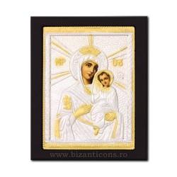 Icoana metal - Maica Domnului din Thinos 19x24 cm K104-410