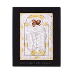 Icoana metal - Sfintii Apostoli Petru si Pavel 19x24 cm K104-431