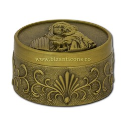 52-300Br cutie metal bronz - MD h4x6cm 100/bax
