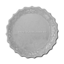 52-360Ag disc metal argintiu - email 35cm 40/bax
