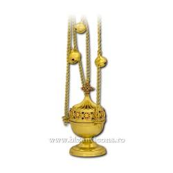 CADELNITA mica - perforata - aurita - pietre 64-12,58cm D 102-5Au