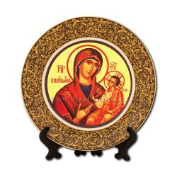 13 and 14 the plate with the icon 18cm - large 48/case