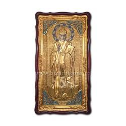 Icoana in rama Sf Nicolae 61x112 cm ST 69-009