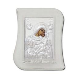 31-52A icoana sticla - transparent - metal 6x8 cm 100/bax