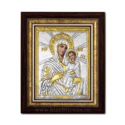 Icoana argintata - Maica Domnului din Tinos 36x44cm K700-410