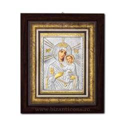 Icoana argintata - Maica Domnului din Tinos 27x32 cm K701-410
