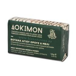 Sapun natural Dokimon 125 gr - Plantele Sfantului Munte Athos