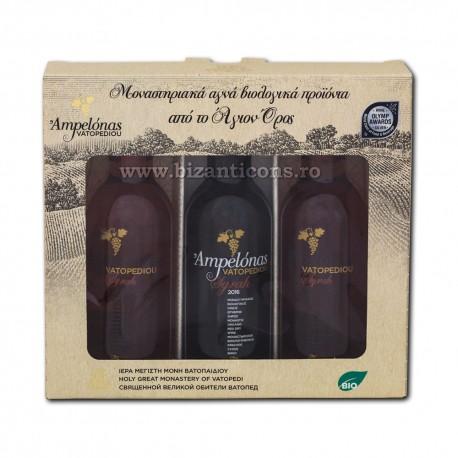 Pachet cadou - Vatoped - 3 sticle vin 187 ml VT 963-1