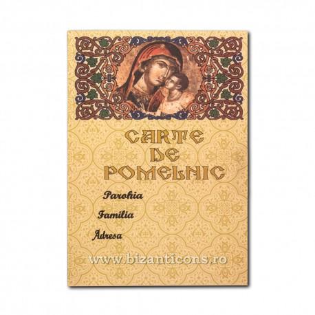6830-7 Carte pomelnic MD 11,5x16,5 20/set