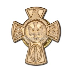6-200 insigna metal cruce cu porumbel 200/set