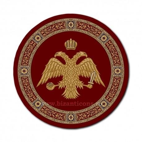 Covor rotund grena cu vultur Ø 150cm TR 3000-150