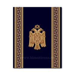 Traversa albastru cu vultur 100cm x 15m TR 2515-100