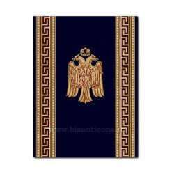 Traversa albastru cu vultur 80cm x 30m TR 2530-80