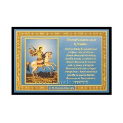 1833-010 Icoana Binecuvantarea Casei 10x15 - Sf Gheorghe