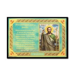 1833-121 Icoana Binecuvantarea Casei 10x15 - Sf Ioan Botezatorul