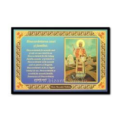 1833-441 Icoana Binecuvantarea Casei 10x15 - Sf Filofteia