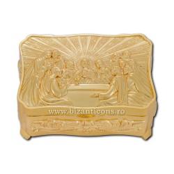 52-104Au cutie metal altar aurie - Cina - mica 100/bax