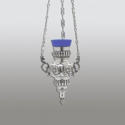 CANDELA lant - No 1 flori 24 cm - argint 925 + patina RK 110-801