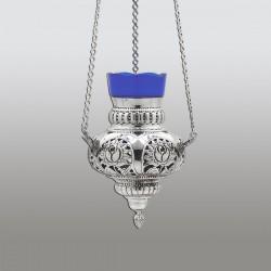 CANDELA lant - No 1 flori 17 cm - argint 925 + patina RK 111-813