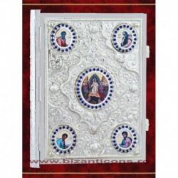 Evanghelie argintata, Medalioane Evanghelisti.