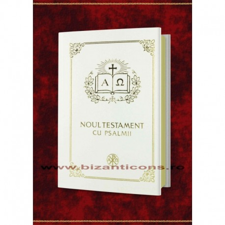 Noul Testament cu Psalmi - alb