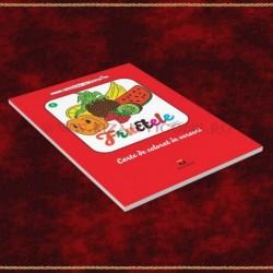 Fructele. Carte de colorat in versuri