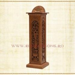 Cutia milei - lemn sculptat