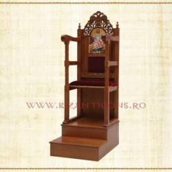 Scaun Arhieresc - lemn sculptat