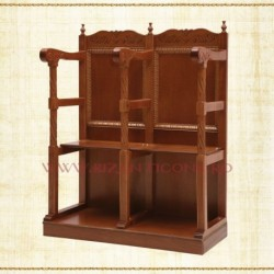 Scaun strana 1 loc - lemn sculptat