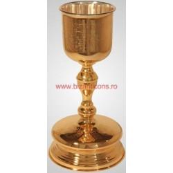 Potir aurit 1,5 l - cupa argintata
