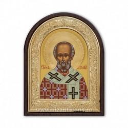 ICOANA aurita - tempera Sf Nicolae