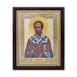 ICOANA rama Sf Nicolae - aureola aurie
