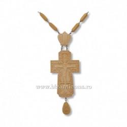 CRUCE STAVROFOR lemn - bizantina - Brancoveanu