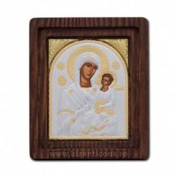 Icoana Ag925 Maica Domnului Giatrisa - Vindecatoarea 11,5x14 cm