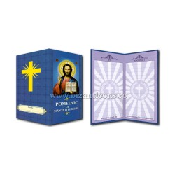 6819-001 pomelnic carton - albastru - M Pantocrator 8,6x17,5 10/set
