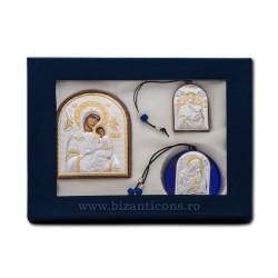 Icoane argint 925 - cutie albastra