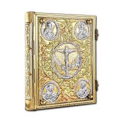 EVANGHELIE medie aurita si argintata - X28-247