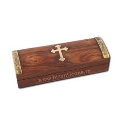CUTIE altar lemn + cruce metal V204
